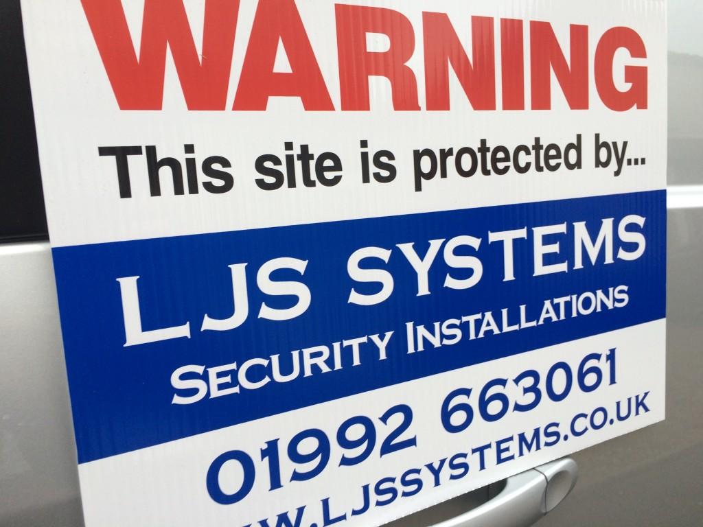 LJS Systems alarm systems hertfordshire